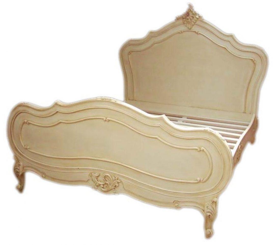 Large Size of Barock Bett Maison Paris Antik Creme 180 200 Cm Aus Der Luxus 140x200 Zum Ausziehen 200x180 Ausgefallene Betten Billige 160x200 Komplett Möbel Boss Kaufen Bett Barock Bett