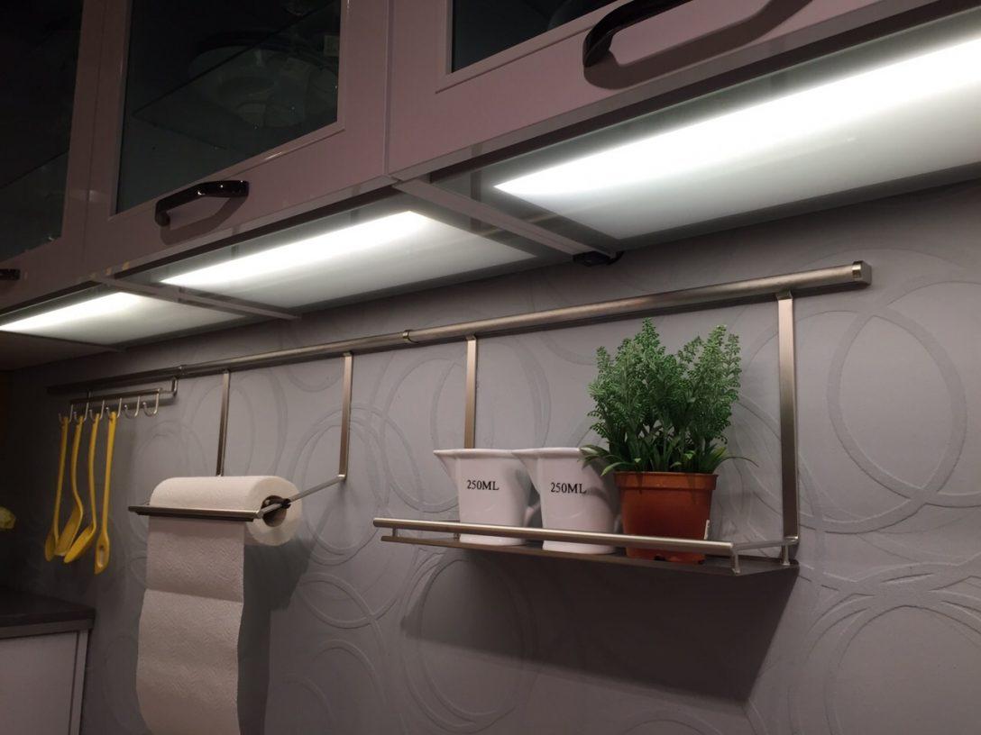 Large Size of Led Beleuchtung Küche Arbeitsplatten Sofa Grau Leder Singleküche Mit E Geräten Hochschrank Gardinen Für Die Braun Unterschrank Vorratsdosen Holz Modern Küche Led Beleuchtung Küche