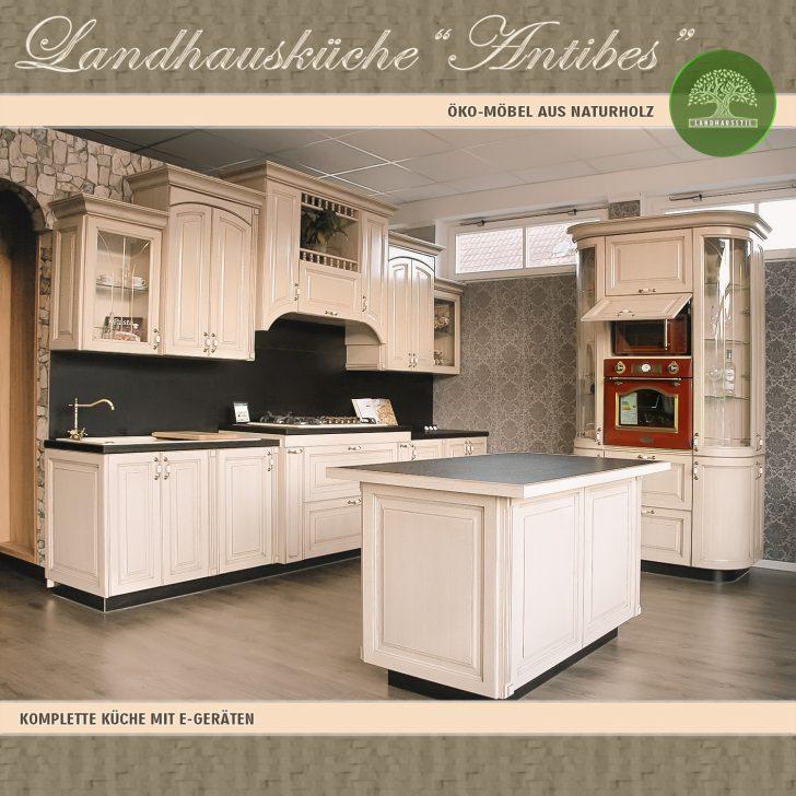 Medium Size of Antibes Einbaukche Komplett Kchenblock 5 Landhausküche Weisse Weiß Moderne Gebraucht Grau Küche Landhausküche