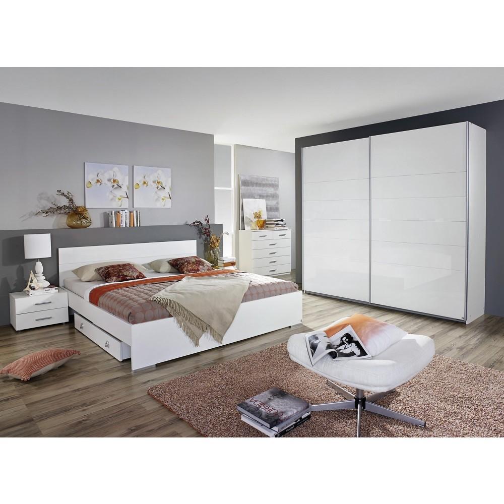 Full Size of Schlafzimmer Komplett Weiß Wei Hochglanz 214717901 Mit Lattenrost Und Matratze Deckenlampe Weißes Sofa Bett 160x200 Stehlampe Big Massivholz Landhaus Schlafzimmer Schlafzimmer Komplett Weiß