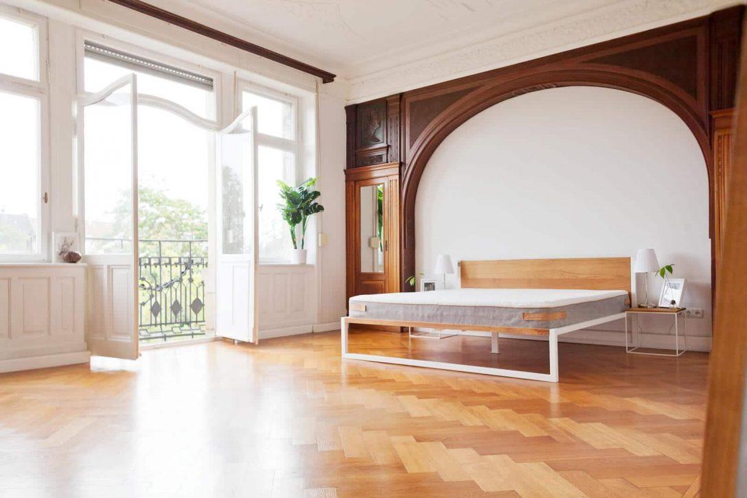 Large Size of Betten Massivholz B18 Stahl Und Eiche N51e12 Design Manufacture Jensen Boxspring Ausgefallene Weiß Joop Test Günstige 180x200 Für Teenager überlänge Bett Betten Massivholz