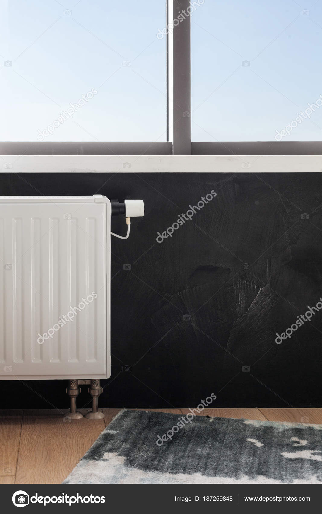 Full Size of Heating White Radiator With Adjuster Of Warming In Living Room. Wohnzimmer Heizkörper Wohnzimmer