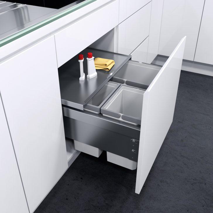 Medium Size of Abfallbehälter Küche Innovative Abfalltrennsysteme Fr Kche Amk Kräutertopf Ohne Hängeschränke Zusammenstellen Wasserhahn Für Eiche Hell Gebrauchte Küche Abfallbehälter Küche