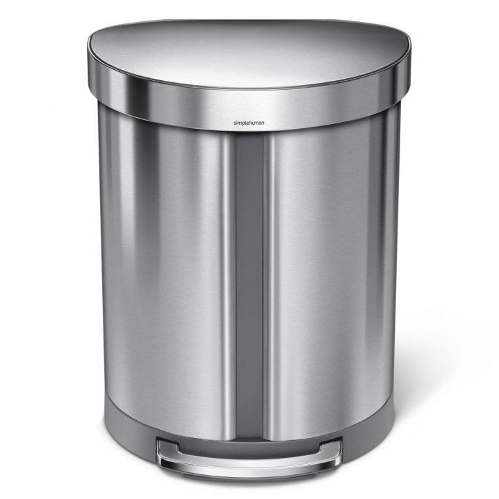 Medium Size of Abfall Recycling Llwwy Slim Treteimer Touch Top Bin Mlleimer Einbau Mülleimer Küche Alno Rolladenschrank Vorhang Beistelltisch Obi Einbauküche Küche Treteimer Küche