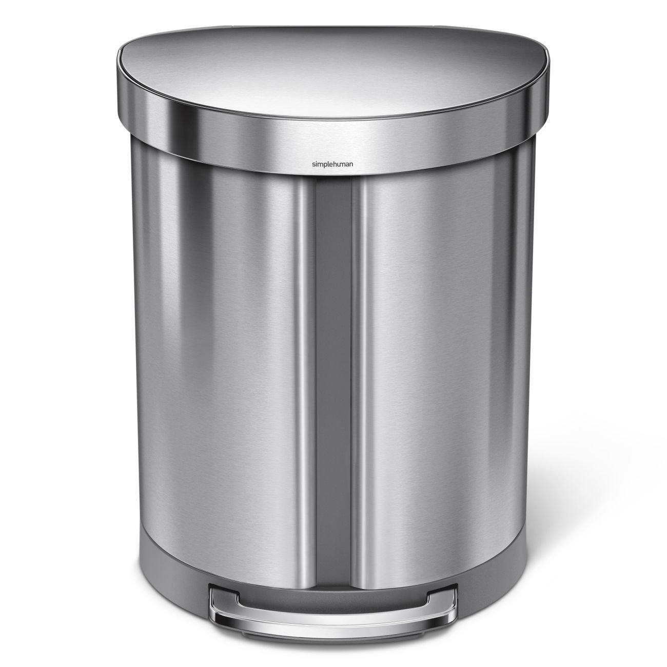 Full Size of Abfall Recycling Llwwy Slim Treteimer Touch Top Bin Mlleimer Einbau Mülleimer Küche Alno Rolladenschrank Vorhang Beistelltisch Obi Einbauküche Küche Treteimer Küche