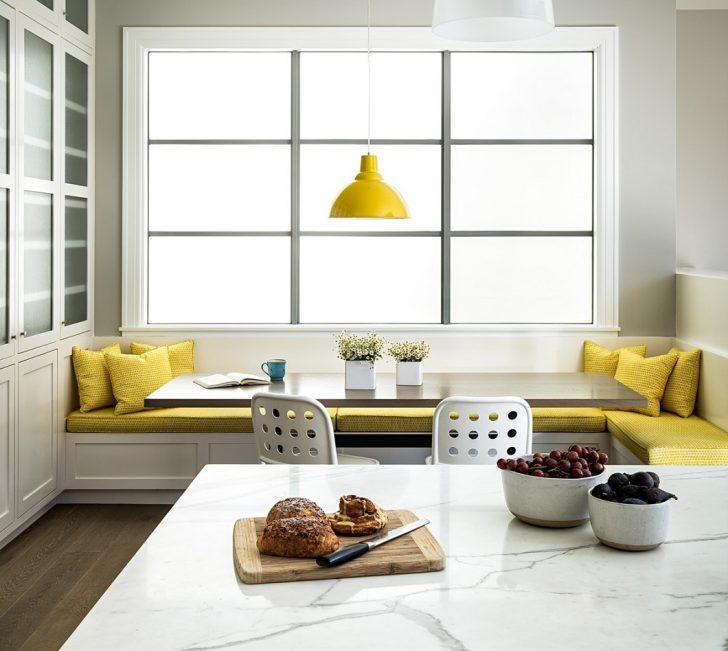 Medium Size of Küche Sitzecke Sitzecken In Der Kche Kchendesignmagazin Lassen Sie Sich Kleine L Form Glasbilder Singleküche Lampen Billige Hängeregal Glaswand Mit Tresen U Küche Küche Sitzecke