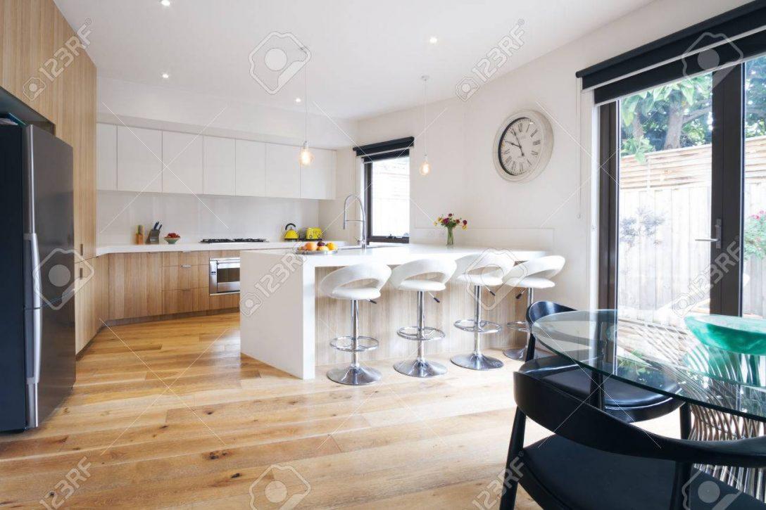Large Size of Modern Open Plan Kitchen With Island Bench Küche Küche Mit Insel
