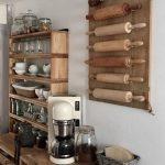 Holzregal Küche Küche Holzregal Küche Wand Regal Küche 15 Cm Breit Regal Küche Skandinavisch Küchenregal Decke