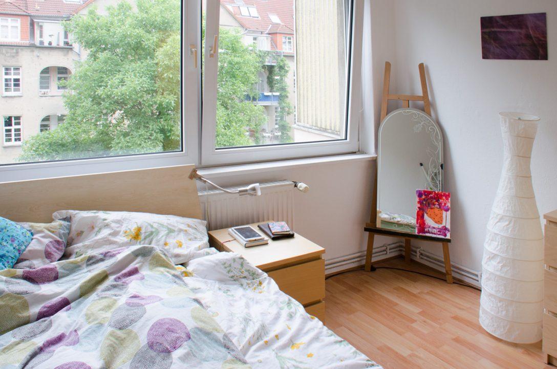 Large Size of So Wohnen Wir Unsere Fantastische Und Gnstige Wohnung In Schlafzimmer Günstig Schranksysteme Komplettangebote Deckenlampe Sitzbank Stuhl Lampe Gardinen Für Schlafzimmer Günstige Schlafzimmer