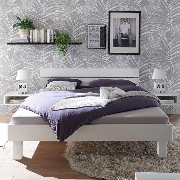 Medium Size of Weißes Bett Weies Holzbett Jasha Aus Buche Massivholz Mit 25 Cm Bodenfreiheit Paletten 140x200 Günstige Betten Mädchen Wohnwert 90x200 De Komplett Paradies Bett Weißes Bett