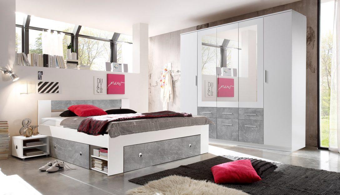 Large Size of Schlafzimmer Komplett Set 4 Tlg Stefan Bett 180 Kleiderschrank Romantische Komplettes Lampe Deckenleuchten Günstig Günstige Sofa Fenster Vorhänge Schlafzimmer Komplett Schlafzimmer Günstig