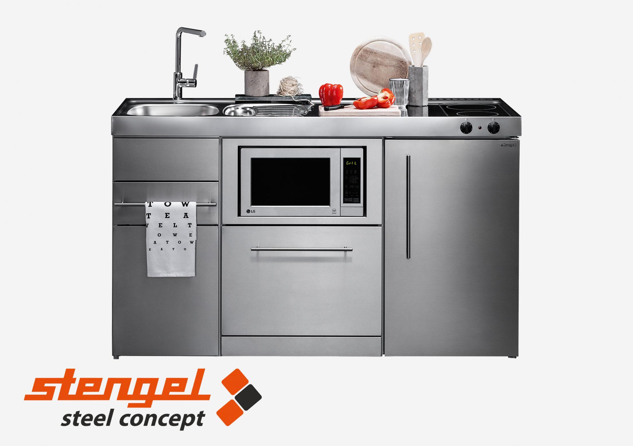 Full Size of Stengel Miniküche Steel Concept Special Mention Kitchen Ikea Mit Kühlschrank Küche Stengel Miniküche
