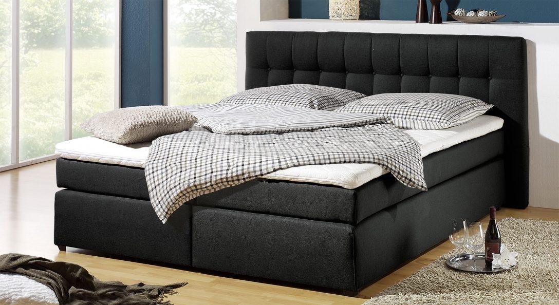 Large Size of Boxspringbett In H3 Bis 120kg Krpergewicht Chicago Bettende Bett Betten.de