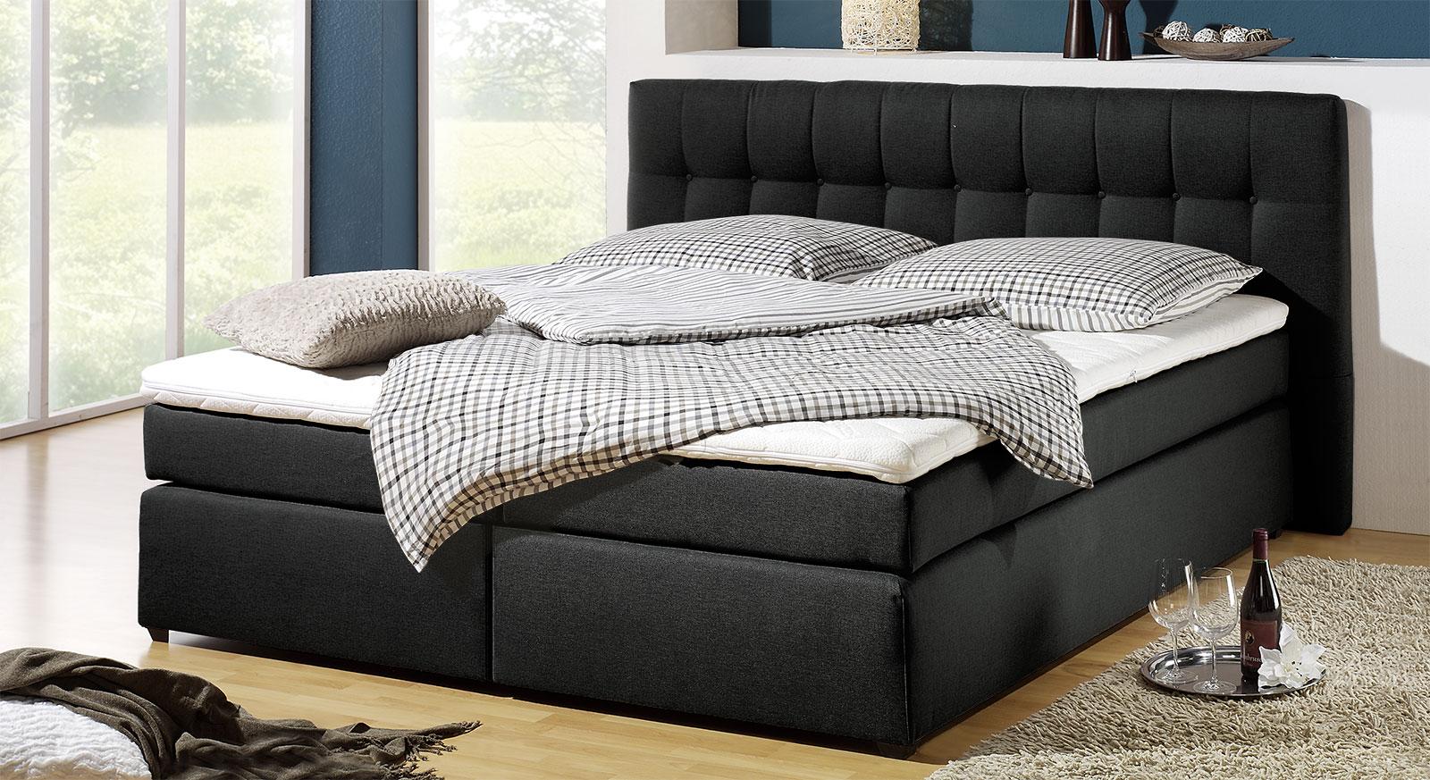 Full Size of Boxspringbett In H3 Bis 120kg Krpergewicht Chicago Bettende Bett Betten.de