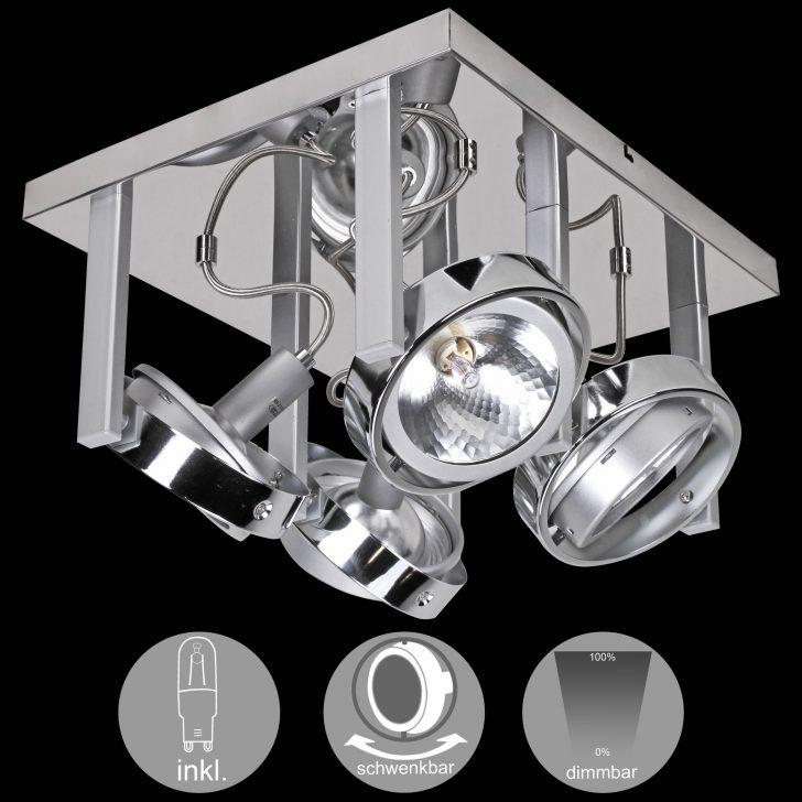 Medium Size of Schlafzimmer Deckenlampe Wohnling 4 Flammige Design Deckenleuchte Aus Chrom Inkl Halogen Klimagerät Für Komplett Poco Schrank Teppich Lampe Led Deckenlampen Schlafzimmer Schlafzimmer Deckenlampe