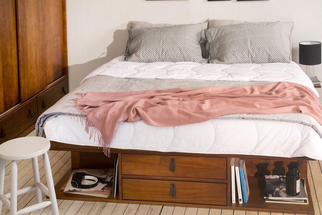 Large Size of Betten Mit Stauraum Bett Ikea 90x200 Hack 180x200 160x200 Holz Selber Bauen Vergleiche Angebote Faq Paradies Unterbett Günstige Küche E Geräten Schlafzimmer Bett Betten Mit Stauraum