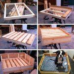 Hunde Bett Diy Freutag Hundebett Aus Holz Selber Bauen Günstige Betten 140x200 Außergewöhnliche Baza Vintage Paletten Ausklappbar Bestes Schutzgitter Such Bett Hunde Bett
