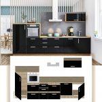Küche Hochglanz Moderne Kche Bellevue Kchenzeile Gnstig Schwarz Einbauküche Selber Bauen Hängeregal Gardinen Für Kaufen Günstig Küchen Regal Küche Küche Hochglanz