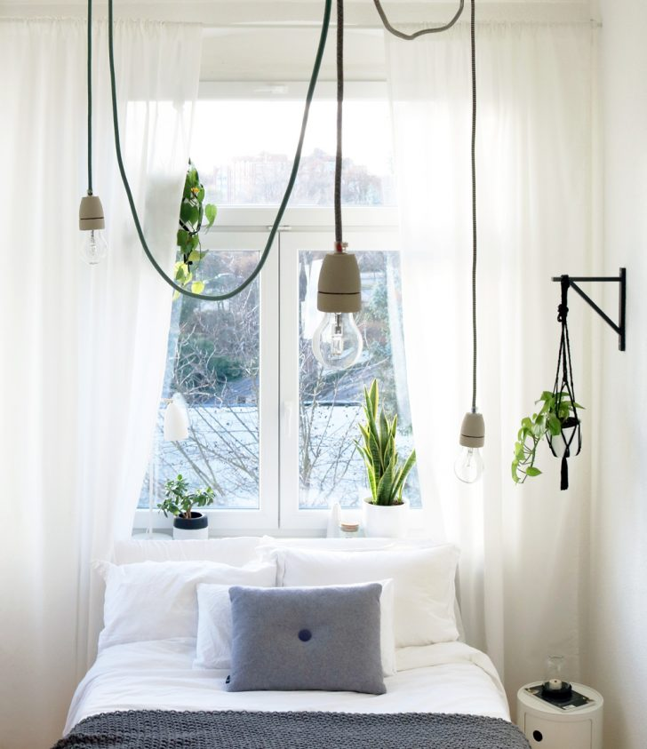 Medium Size of Lampen Schlafzimmer Diy Textilkabel Lampe Im Its Pretty Nice Deckenleuchten Deckenlampen Wohnzimmer Modern Teppich Stuhl Für Stehlampe Schranksysteme Sessel Schlafzimmer Lampen Schlafzimmer