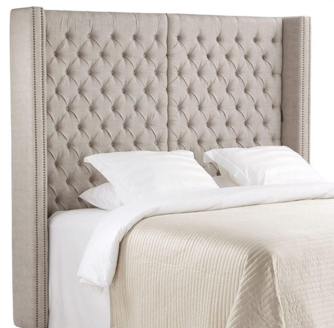 Large Size of Kopfteil Bett Casa Padrino Luxus 200 H 180 Cm Designer Innocent Betten Kaufen 140x200 überlänge Rückwand Eiche Wohnwert Modernes 180x200 Minimalistisch Bett Kopfteil Bett