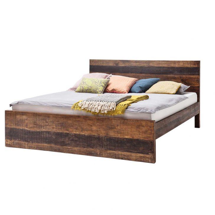 Medium Size of Bett Massivholz Kumasi Aus In Antik Braun 158 213 Cm Mbel Ideal Japanisches Betten 90x200 100x200 180x200 Stapelbar Rückenlehne Mit Stauraum Rückwand Großes Bett Bett Massivholz