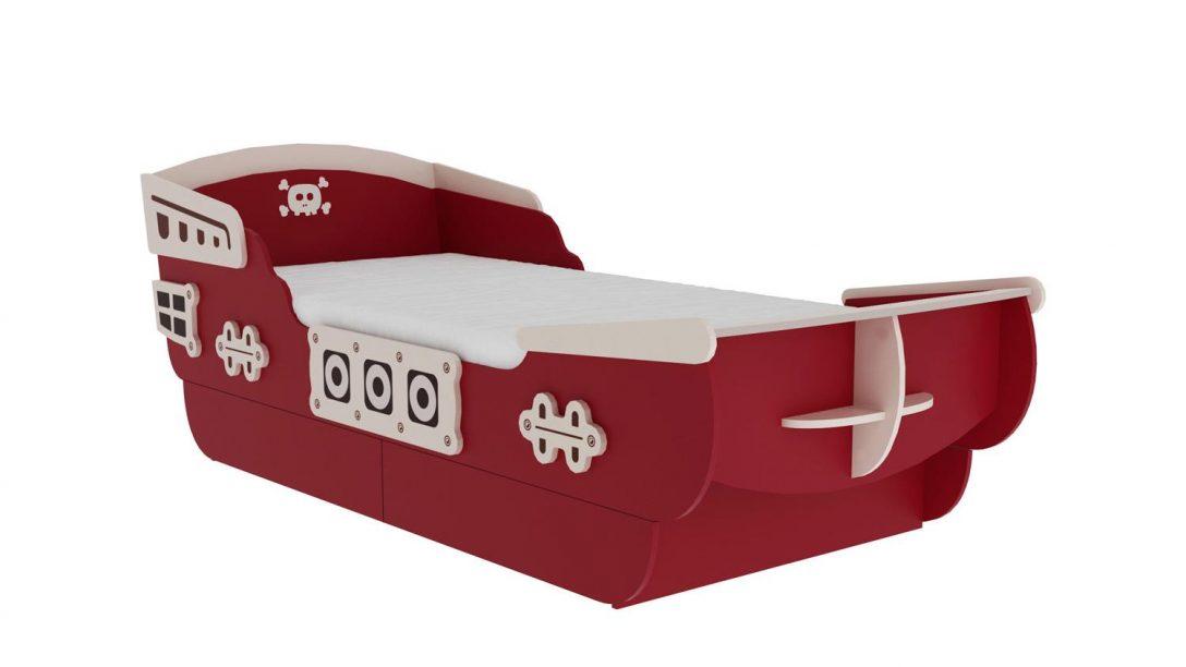Large Size of Bett 90x200 Mit Lattenrost Captain Kinderbett Mdf Rot Und Beige Inkl Cm Bettkasten 160x200 Sofa Abnehmbaren Bezug L Schlaffunktion Betten Für übergewichtige Bett Bett 90x200 Mit Lattenrost