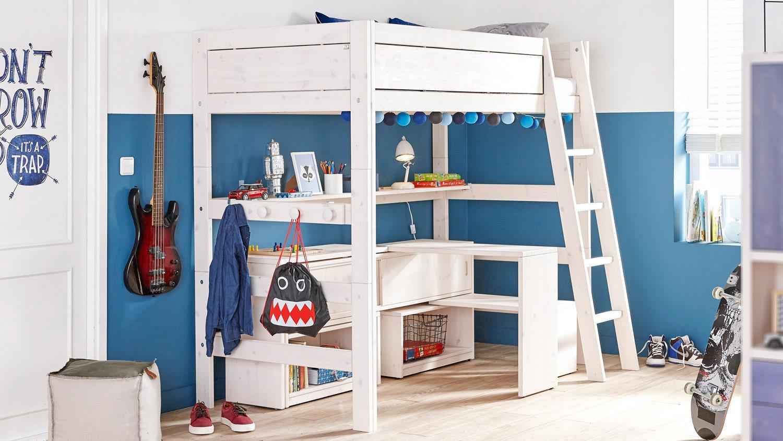 Full Size of Lifetime Bett Hochbett Kinderbett In Kiefer Massiv Whitewash Romantisches Betten überlänge Massivholz Weiß 120x200 Rustikales Rückwand Trends Günstiges Bett Lifetime Bett