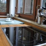 Küche Arbeitsplatte Küche Küche Arbeitsplatte Quarzkomposit Küche Arbeitsplatte Anthrazit Küche Arbeitsplatte Schneiden Abschlussleiste Küche Arbeitsplatte