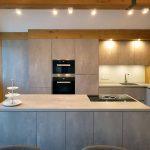 Küche Betonoptik Holz Arbeitsplatte Tapete Betonoptik Küche Hängeschrank Betonoptik Küche Betonoptik Putz Küche Küche Betonoptik Küche