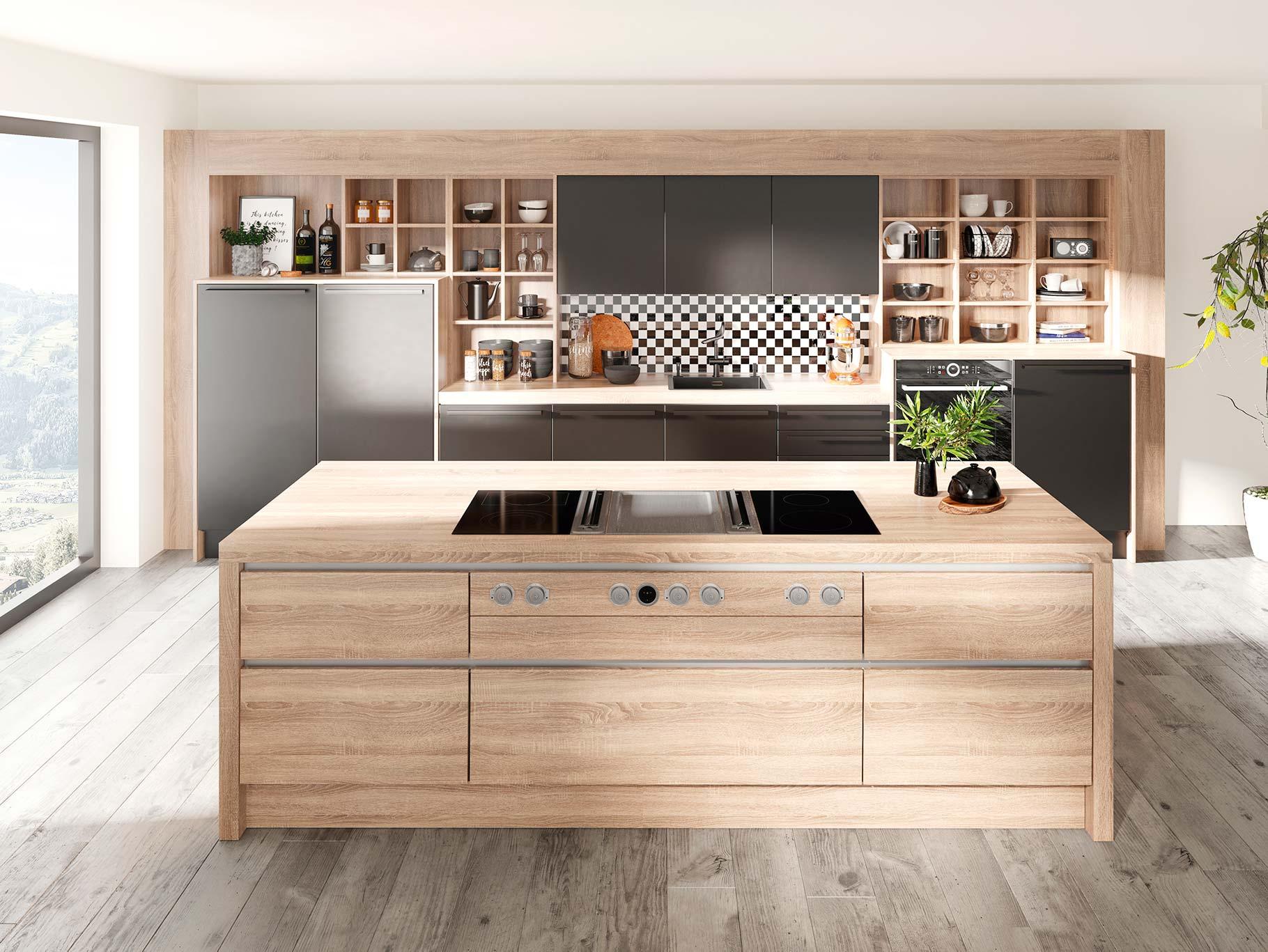 Full Size of Küche Eiche Hell Modern Küche Eiche Hell Streichen Küche Eiche Hell Welche Wandfarbe Arbeitsplatte Küche Eiche Hell Küche Küche Eiche Hell
