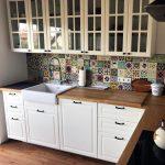 Küche Fliesenspiegel Streichen Küche Fliesenspiegel Verschönern Küche Fliesenspiegel Verkleiden Küche Fliesenspiegel Neu Gestalten Küche Küche Fliesenspiegel