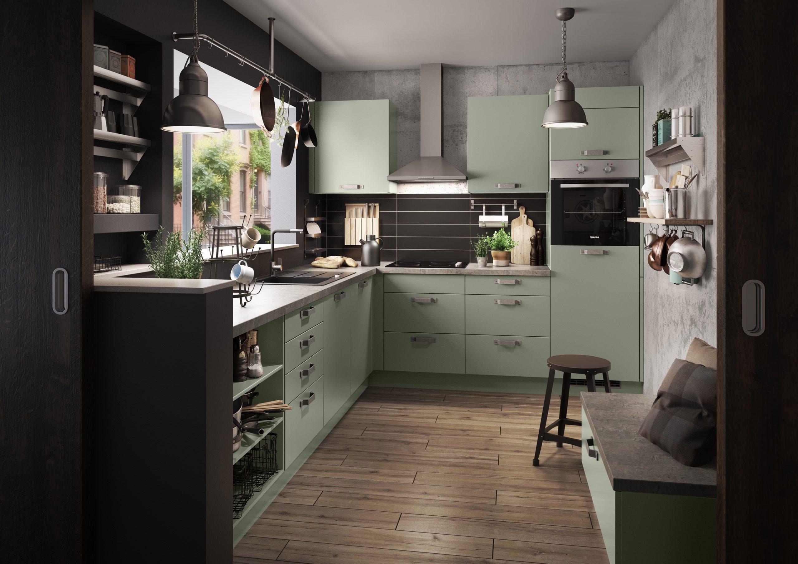 Full Size of Küche Grün Kaufen Küche Grün Streichen Küche Grün Ikea Küche Olivgrün Küche Küche Mintgrün