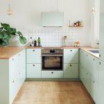 Küche Grün Matt Mintgrüne Küche Welche Wandfarbe Küche Grün Alt Küche Fliesenspiegel Grün Küche Küche Mintgrün