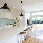 Küche Mintgrün Küche Contemporary Kitchen Living Room