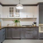 Küche Modern Weiss Küche Modern Grey And White Wooden Kitchen Interior