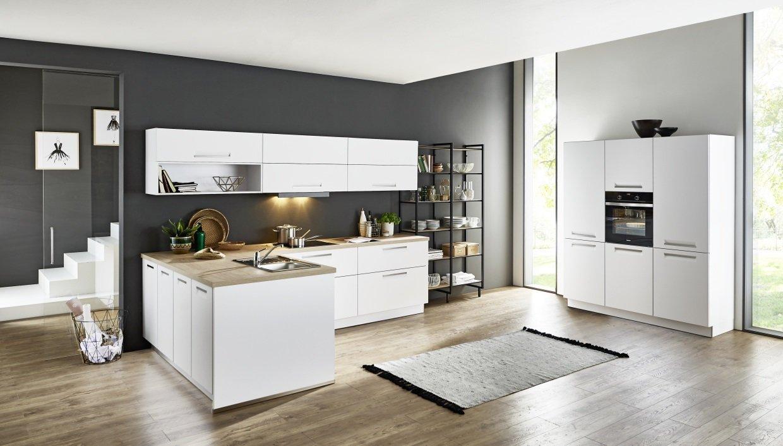 Full Size of Integra   Arcticweiss Softmatt Küche Küche Nolte