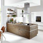 Nova Lack   Weiß HG / Ferro   Cortenstahl Küche Küche Nolte