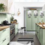 Küche Rigips Grün Küche In Grün Streichen Küche Fliesenspiegel Grün Küchenfront Grün Küche Küche Mintgrün