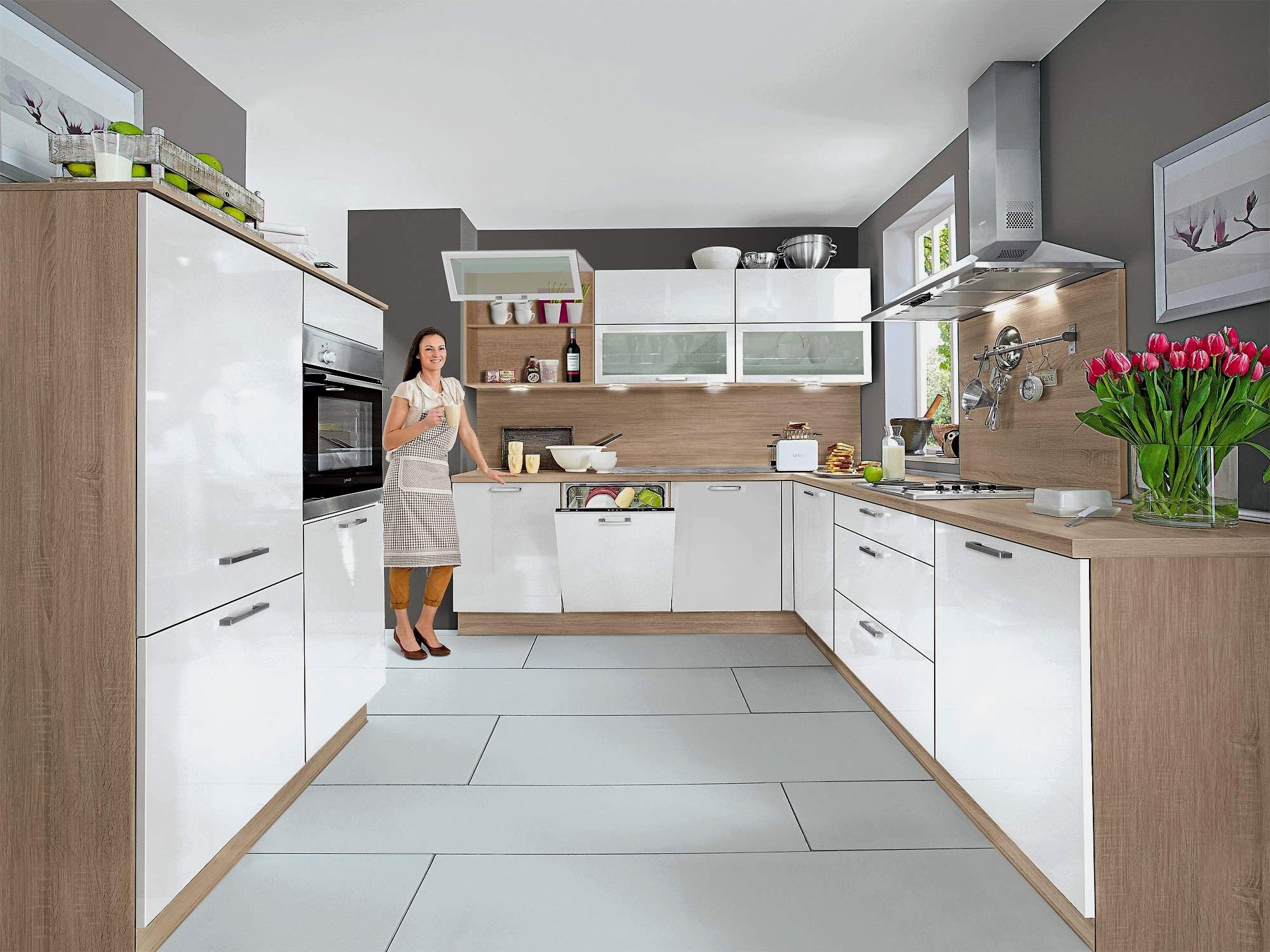 Full Size of Küchen Günstig Küche Weiß Hochglanz U Form Küche Küche U Form