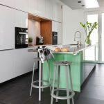 Küche Wandfarbe Grün Küche Landhausstil Mintgrün Küche Weiß Grün Küche Fliesenspiegel Grün Küche Küche Mintgrün