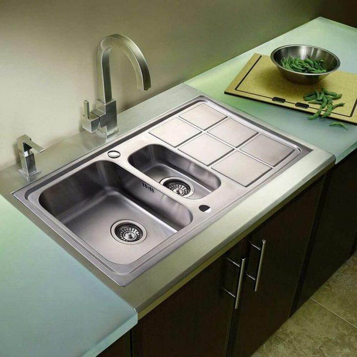 Medium Size of Inspirierend Edelstahl Küchenspüle Spülbecken Einbauspüle Waschbecken Küche Küche Waschbecken