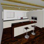 Küchentheke Design Küche Mit Theke An Der Wand Küche Mit Kochinsel Und Theke Holz Küche Theke Bauen Küche Küche Mit Theke