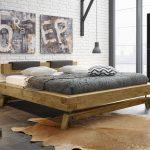 Rustikales Bett Bett Rustikal Bett Rustikales Kaufen Selber Bauen Rustikale Betten Massivholzbetten Gunstig Holzbetten Aus Wildeiche In Balkenoptik Mit Holzkufen Valdivia Ohne
