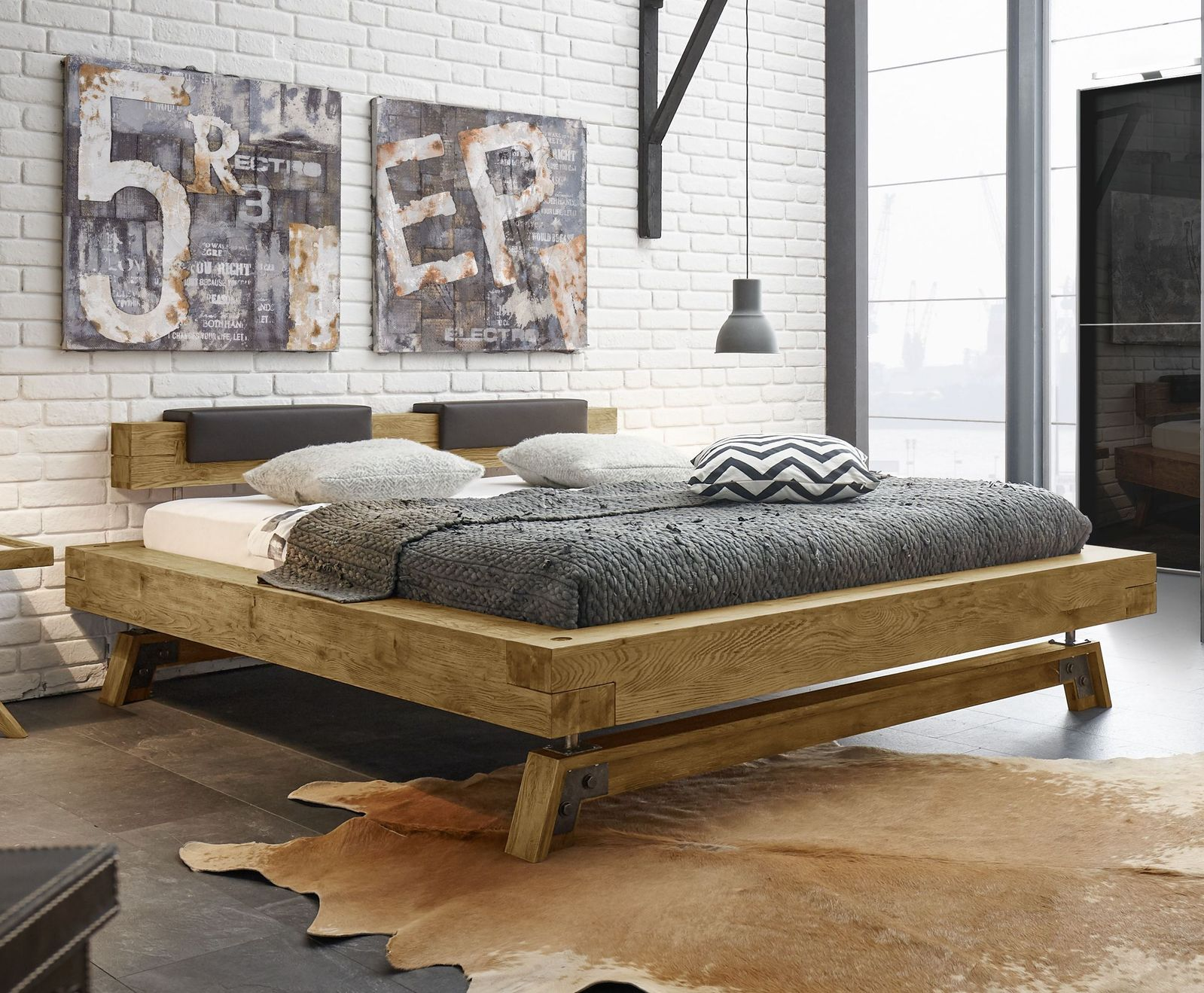 Full Size of Rustikal Bett Rustikales Kaufen Selber Bauen Rustikale Betten Massivholzbetten Gunstig Holzbetten Aus Wildeiche In Balkenoptik Mit Holzkufen Valdivia Ohne Bett Rustikales Bett