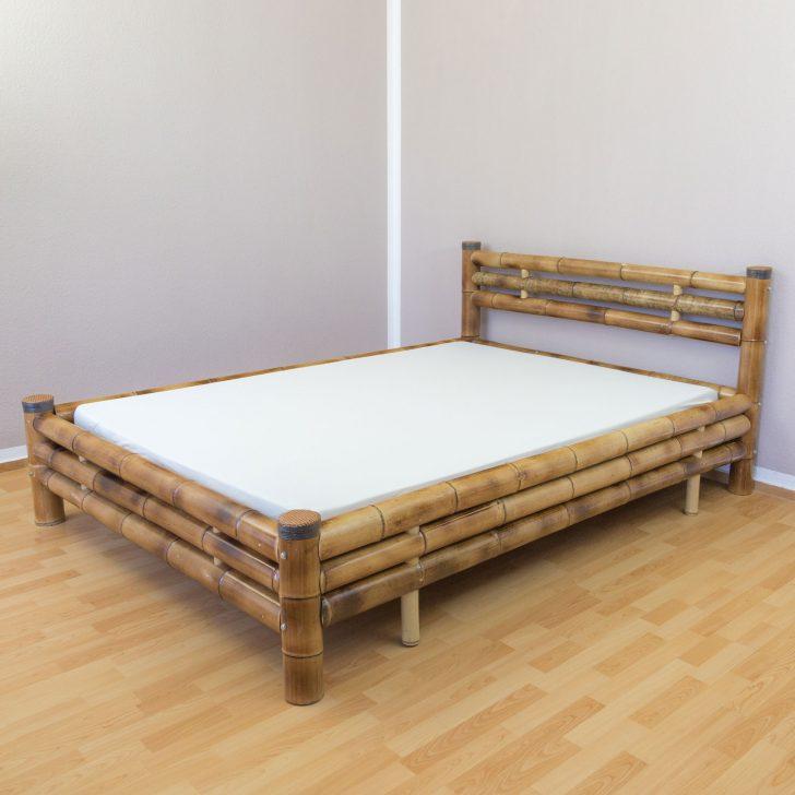 Medium Size of Bambusbett Bambus Bett 140 200 Braun Massiv Futonbett Doppelbett 90x200 Mit Lattenrost Und Matratze 2m X Französische Betten Stauraum 200x200 Bettkasten Weiß Bett Bett 140