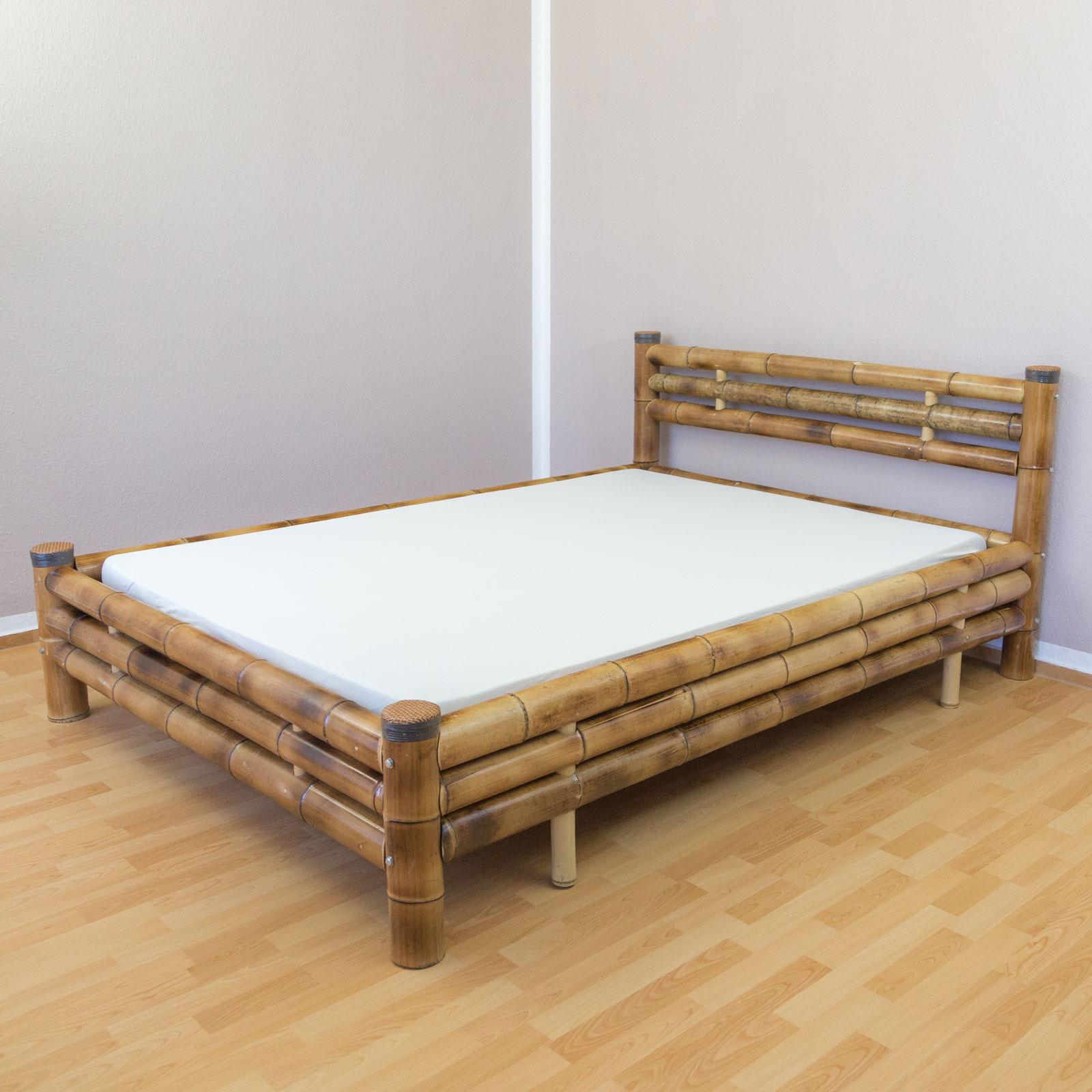 Full Size of Bambusbett Bambus Bett 140 200 Braun Massiv Futonbett Doppelbett 90x200 Mit Lattenrost Und Matratze 2m X Französische Betten Stauraum 200x200 Bettkasten Weiß Bett Bett 140