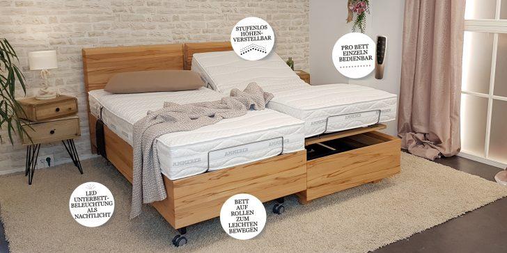 Medium Size of Komfortbetten Ammerer Schlafen Wohnen Bett Mit Matratze Fenster Eingebauten Rolladen Rutsche Massiv Betten 180x200 Weiß Holz Sofa Holzfüßen 120x200 Und Bett Bett Mit Unterbett