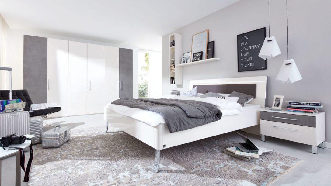 Large Size of Interliving Schlafzimmer Serie 1003 Schlafzimmerkombination Kommoden Wandtattoos Deckenleuchten Rauch Nolte Led Deckenleuchte Weißes Regal Komplett Weiß Schlafzimmer Weißes Schlafzimmer