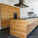 Küche Eiche Küche Massivholz Kche Aus Donau Eiche Bodengleiche Duschen Einbauküche Mit Elektrogeräten Pension Bad Reichenhall Wasserhahn Küche Gardinen Für