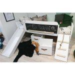 Bett Mit Rutsche Lifetime Kidsrooms Original Halbhoch Und Dormiente Bettkasten 90x200 Betten Schubladen 2 Sitzer Sofa Relaxfunktion Modernes 180x200 Bad Bett Bett Mit Rutsche